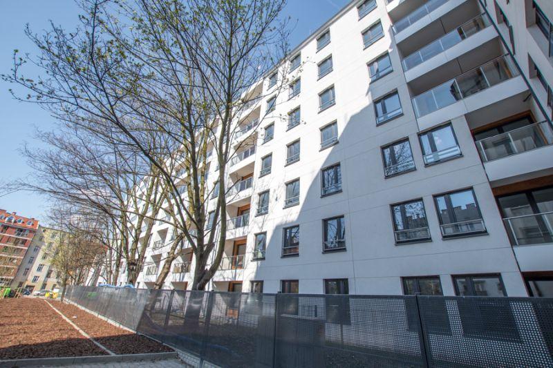 nowy budynek mieszkalny we Wrocławiu