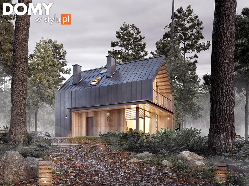 Projekt domu takiego w budowie